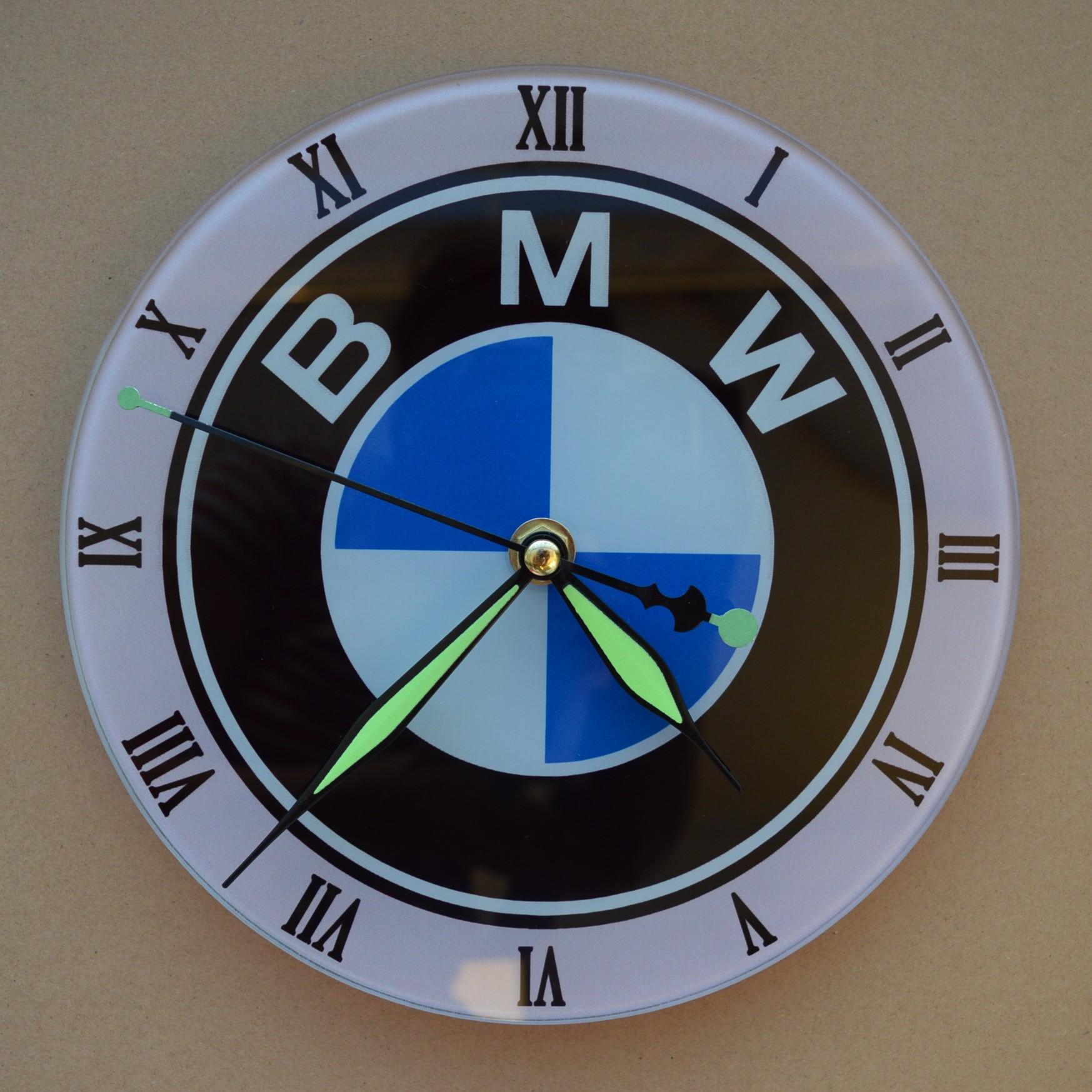 hodiny BMW sublimační potisk