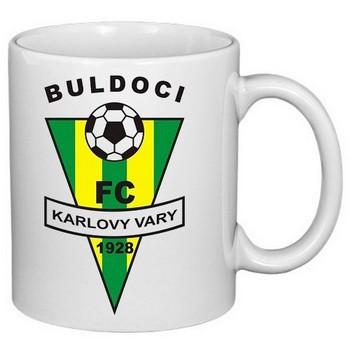hrnek s potiskem Buldoci FC Karlovy Vary