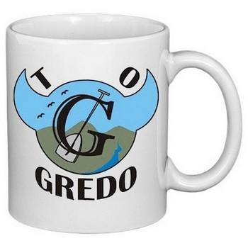 hrnek s potiskem Trampská osada Gredo