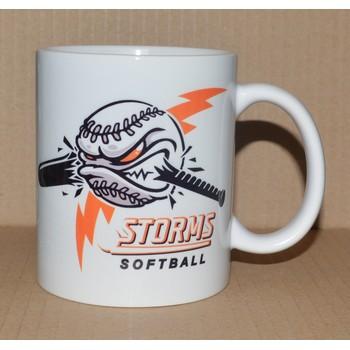 hrnek s potiskem Storms softball