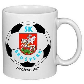 hrnek s potiskem fotbal SK Brušperk