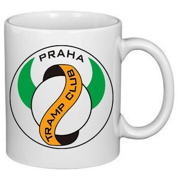 hrnek s potiskem Tramp club Praha